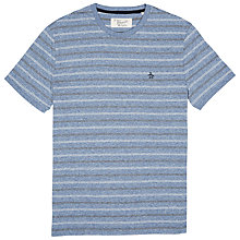 Buy Original Penguin Marl Stripe T-Shirt, Bering Sea Online at johnlewis.com