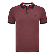 Buy Original Penguin Tricolour Pique Birdseye Polo Shirt Online at johnlewis.com
