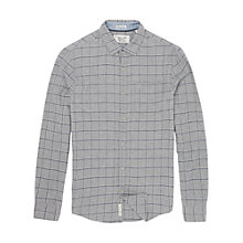 Buy Original Penguin Brushed Flannel Window Pane Check Shirt, Griffin Online at johnlewis.com