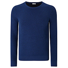Buy J. Lindeberg Ernesto Jumper, Blue Online at johnlewis.com