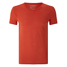 Buy J. Lindeberg Cody Cotton T-Shirt, Red Online at johnlewis.com