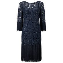 Buy Jacques Vert Tassel Lace Dress, Dark Green Online at johnlewis.com