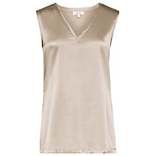 Buy Reiss Fi Tank Top, Gold Online at johnlewis.com