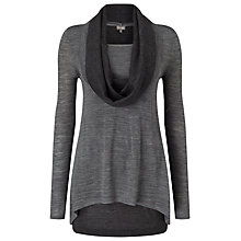 Buy Phase Eight Clementine Jumper, Grey/Silver Online at johnlewis.com