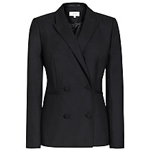 Buy Reiss Mossy Textured Double Breasted Blazer, Night Navy Online at johnlewis.com