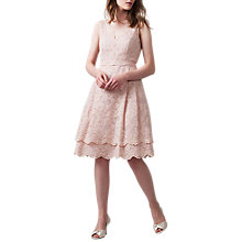 Buy Phase Eight Milly Prom Dress, Nude Online at johnlewis.com