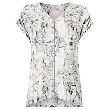 Buy Phase Eight Melina Marble Print Blouse, Multi Online at johnlewis.com