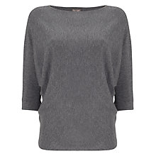Buy Phase Eight Cristine Batwing Jumper, Grey Marl Online at johnlewis.com