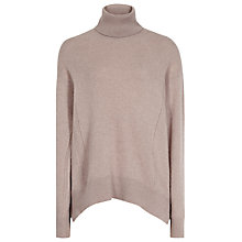 Buy Reiss Daveen Cashmere Roll Neck Online at johnlewis.com