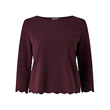 Buy Phase Eight Teagan 3/4 Sleeve Top Online at johnlewis.com