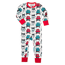 Buy Polarn O. Pyret Baby Monster Onesie Pyjamas, Ski Patrol Online at johnlewis.com