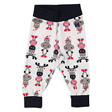 Buy Polarn O. Pyret Baby Animal Trousers, Snow White Online at johnlewis.com