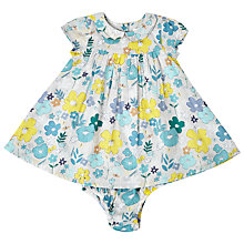 Buy John Lewis Baby Floral Woven Dress, Multi Online at johnlewis.com