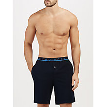 Buy BOSS Pique Lounge Shorts, Navy Online at johnlewis.com