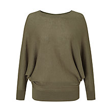 Buy Jigsaw Boat Neck Batwing Jumper Online at johnlewis.com