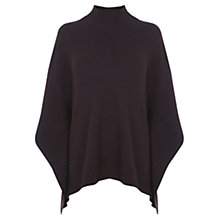 Buy Oasis Rib Trim Poncho Online at johnlewis.com