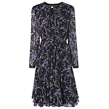 Buy L.K. Bennett Elleri Tie Neck Dress, Multi Online at johnlewis.com