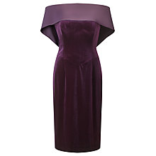 Buy Jacques Vert Satin Back Neck Dress Online at johnlewis.com