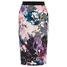 Buy Coast Mull Printed Pencil Skirt, Multi Online at johnlewis.com