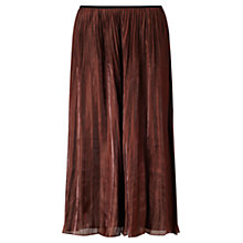 Buy Jigsaw Pleated Iridescent Midi Skirt Online at johnlewis.com
