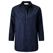 Buy Collection WEEKEND by John Lewis Florence Easy Fit Shirt, Dark Blue Online at johnlewis.com