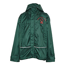 Buy Ashbrooke School Coat, Bottle Green Online at johnlewis.com