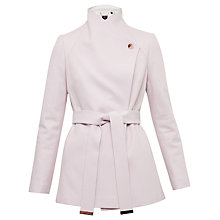 Buy Ted Baker Elika Contrast Lapel Short Wrap Coat Online at johnlewis.com