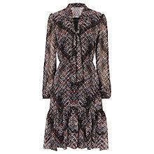 Buy Karen Millen Plaid Print Dress, Multi Online at johnlewis.com