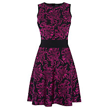 Buy Karen Millen Floral Bandage Dress, Pink Online at johnlewis.com