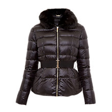 Buy Ted Baker Junnie Down Jacket, Black Online at johnlewis.com