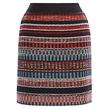 Buy Karen Millen Tweed Skirt, Multicolour Online at johnlewis.com