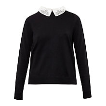 Buy Ted Baker Miriah Woven Short Detail Jumper Online at johnlewis.com