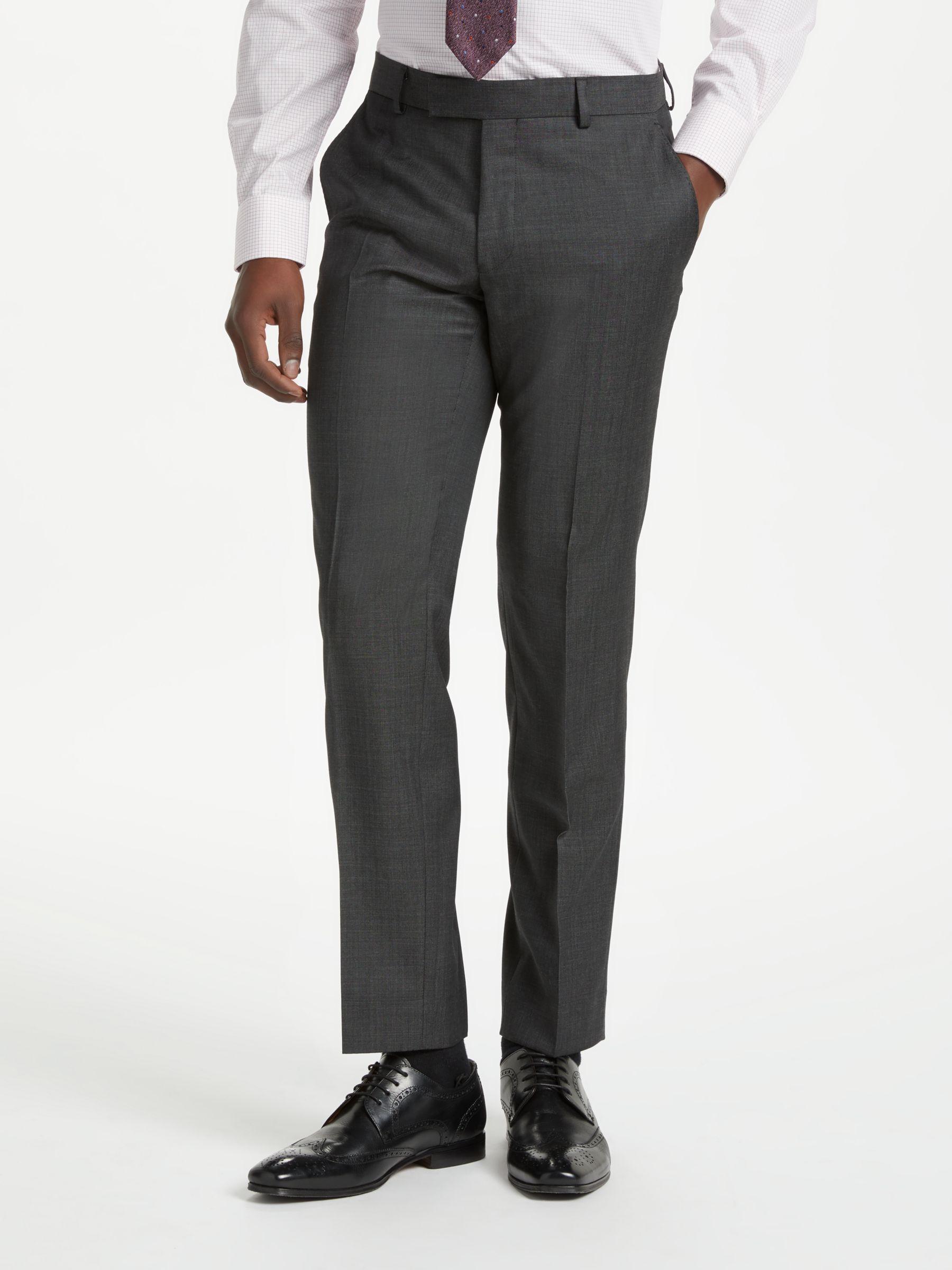 Richard James Mayfair Richard James Mayfair Wool Pindot Slim Fit Suit Trousers, Charcoal