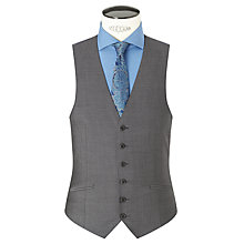 Buy Richard James Mayfair Tonic Sheen Slim Waistcoat, Charcoal Online at johnlewis.com