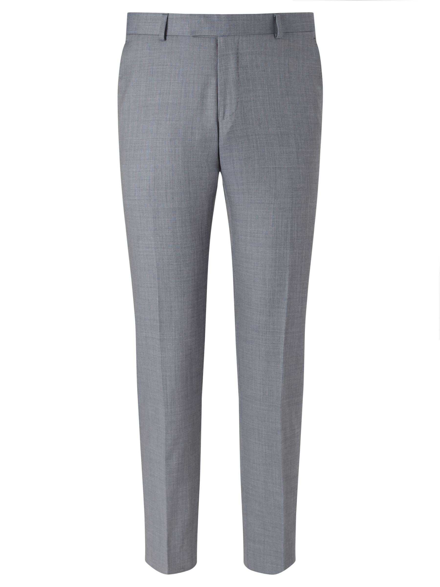 Richard James Mayfair Richard James Mayfair Wool Sharkskin Slim Fit Suit Trousers, Slate