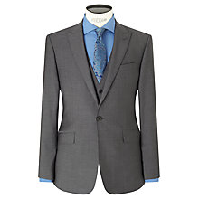Buy Richard James Mayfair Tonic Sheen Slim Suit Jacket, Charcoal Online at johnlewis.com
