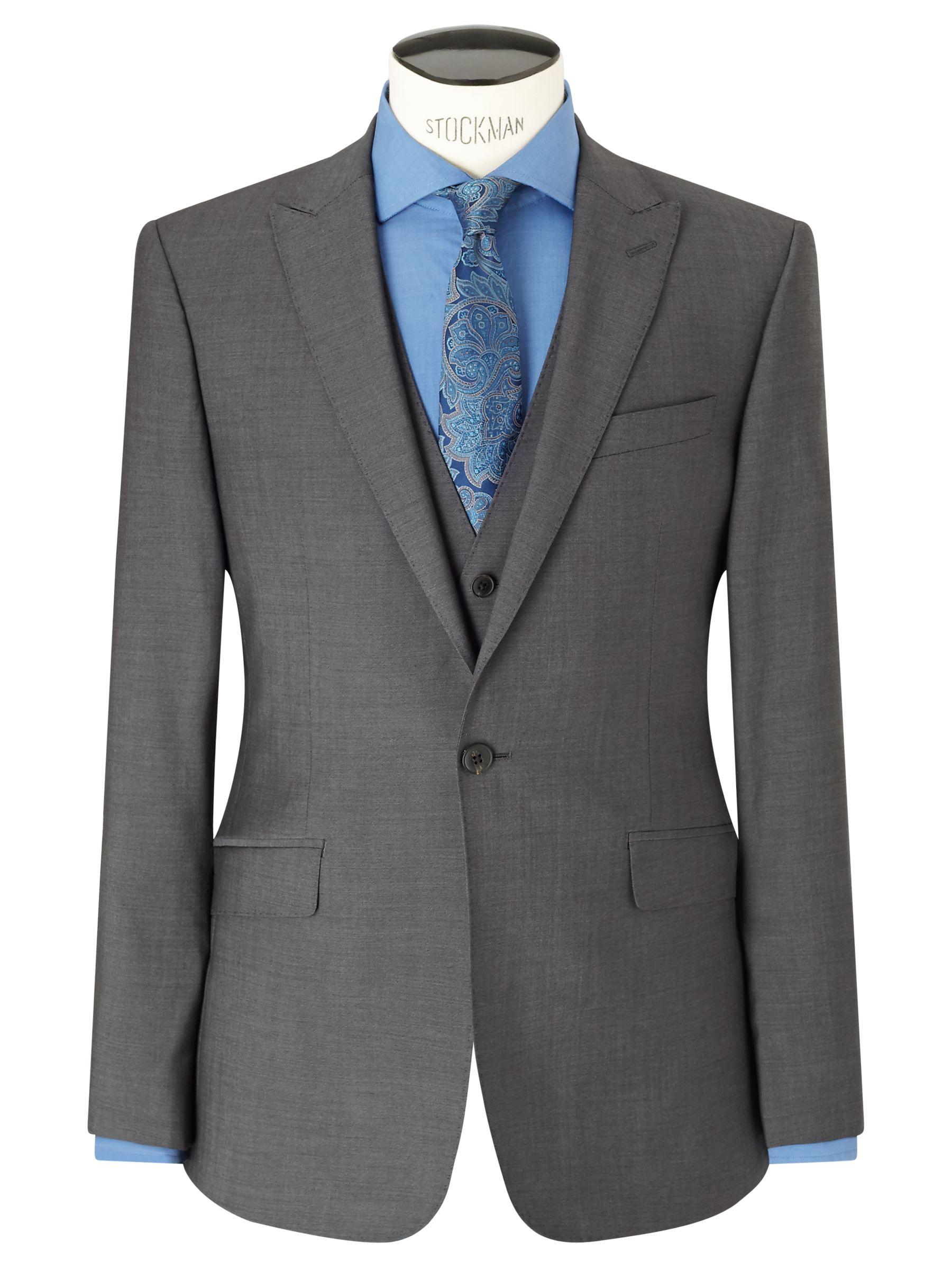 Richard James Mayfair Richard James Mayfair Tonic Sheen Slim Suit Jacket, Charcoal