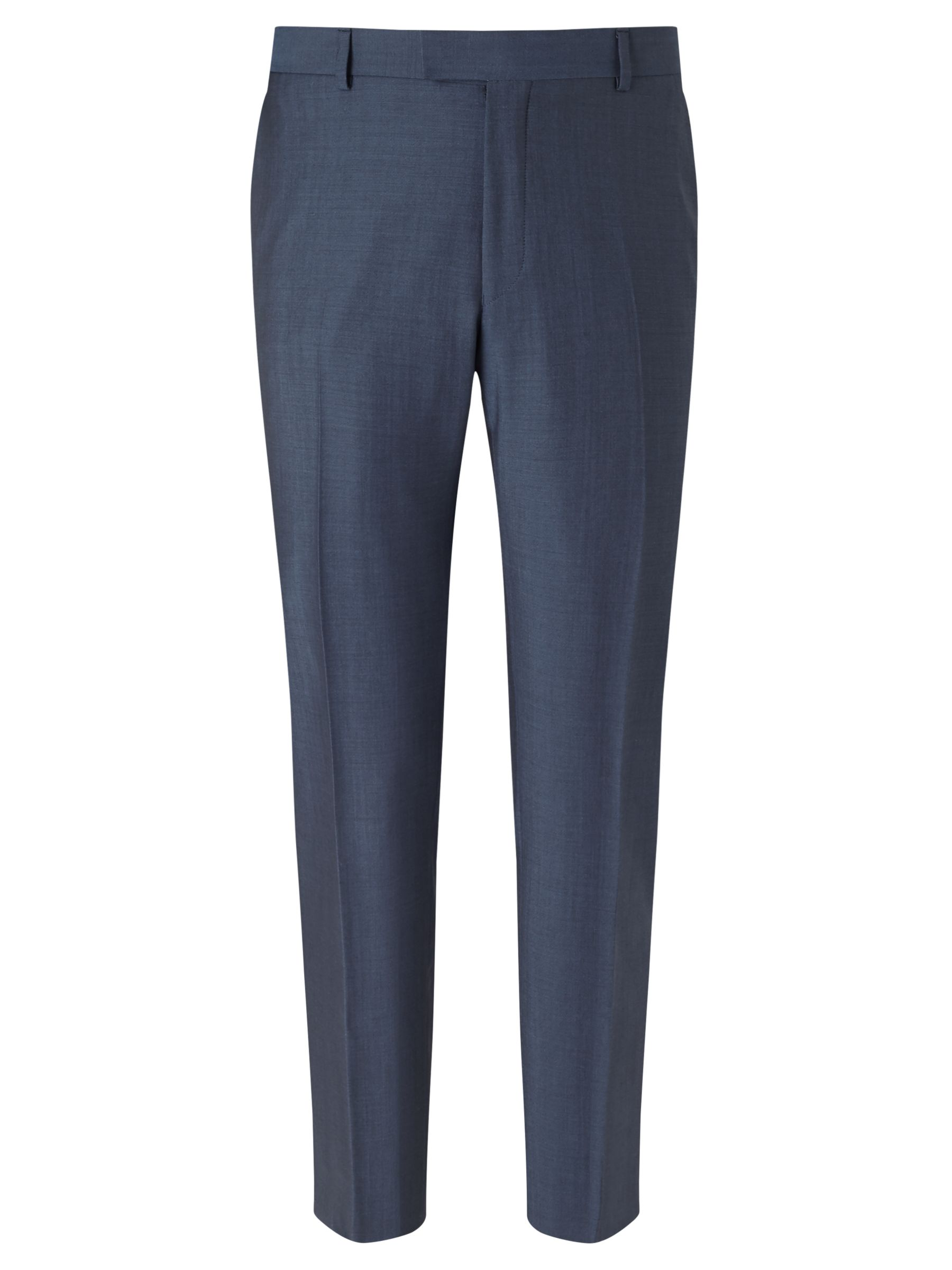 Richard James Mayfair Richard James Mayfair Wool Mohair Slim Fit Suit Trousers, Blue Steel