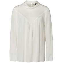 Buy Selected Femme Boya Blouse, Snow White Online at johnlewis.com