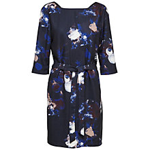 Buy Selected Femme Jamie Printed Dress, Dark Sapphire Online at johnlewis.com