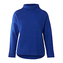 Buy Selected Femme Darla Merino Wool Jumper, Mazarine Blue Online at johnlewis.com