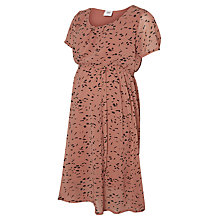 Buy Mamalicious Ellie Short Sleeve Maternity Dress, Pink Online at johnlewis.com