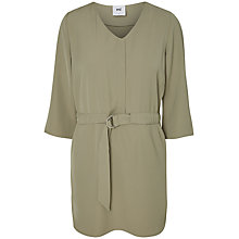 Buy Mamalicious Una Lia Maternity Nursing Tunic Top, Vetiver Green Online at johnlewis.com