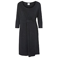 Buy Mamalicious Adala Tess 3/4 Jersey Maternity Dress, Grey Melange Online at johnlewis.com