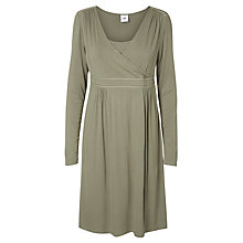 Buy Mamalicious Rikko Tess Maternity Nursing Dress, Vetiver Green Online at johnlewis.com