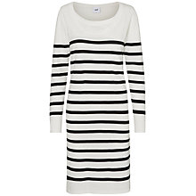 Buy Mamalicious Anga Nell Long Sleeve Maternity Nursing Dress, Snow White Online at johnlewis.com