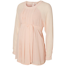 Buy Mamalicious Kiwi Long Sleeve Maternity Top, Misty Rose Online at johnlewis.com