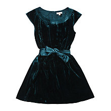 Buy Jigsaw Girls' Velvet Party Dress Online at johnlewis.com