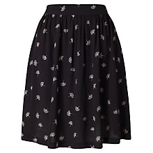 Buy Minimum Annabel Skirt, Black Online at johnlewis.com