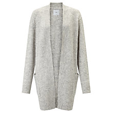 Buy Minimum Cajsa Longline Cardigan, Beige Online at johnlewis.com